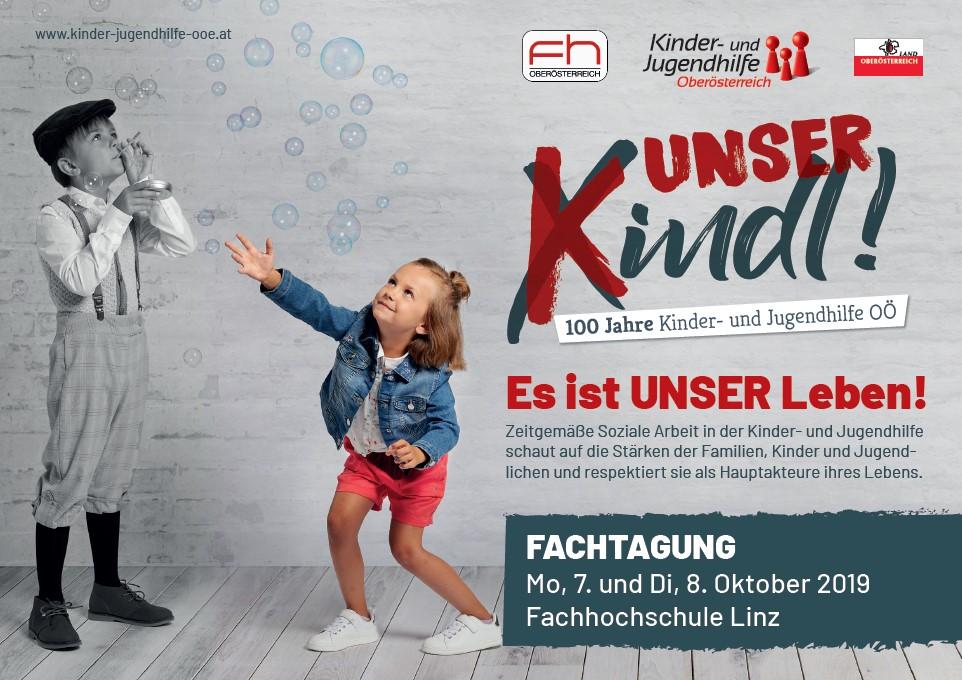 Poster: Fachtagung 100 Jahre Kinder- und Jugendhilfe OÖ