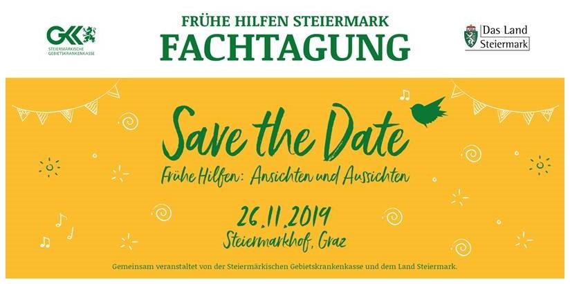 Poster von Fachtagung Frühe Hilfen Steiermark