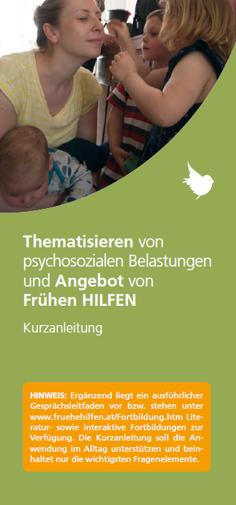 Bild vom Titelblatt des Folders
