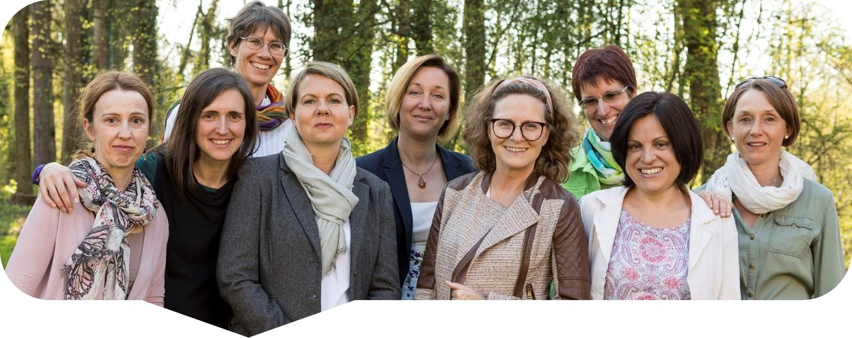 Teamfoto Netzwerk Frühe Hilfen Salzburg - Pongau/Pinzgau/Lungau