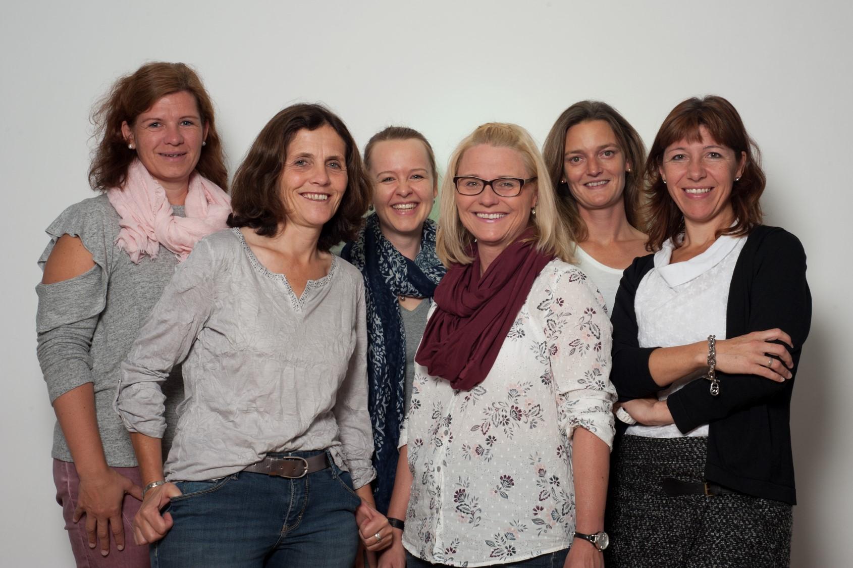 Teamfoto: Netzwerk Gesund ins Leben