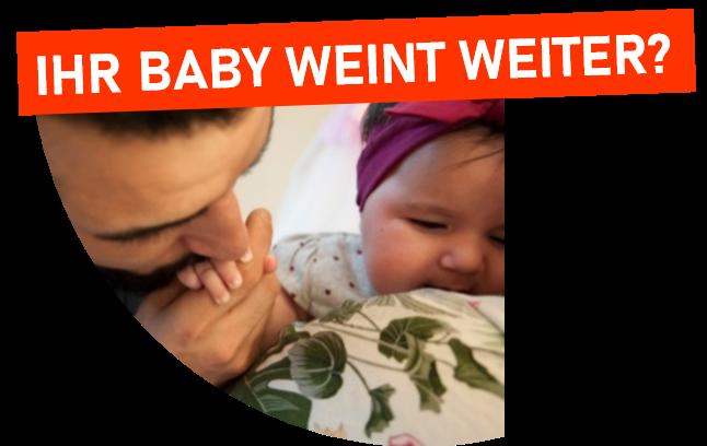 Bildüberschrift: Ihr Babyweint weiter?
