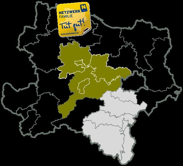 Einzugsgebiet Netzwerk Familie NÖ
