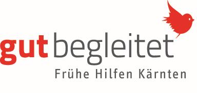 Logo: Gut begleitet - Frühe Hilfen Kärnten