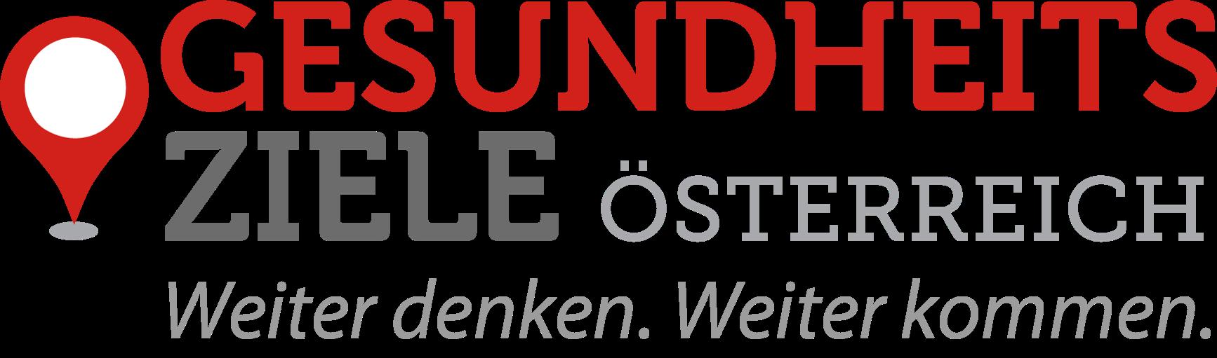 Bild mit Text: Logo Gesundheitsziele Österreich
