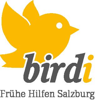Logo birdi Frühe Hilfen Salzburg