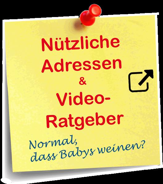 Post it Notiz: Nützliche Adressen & Video Ratgeber