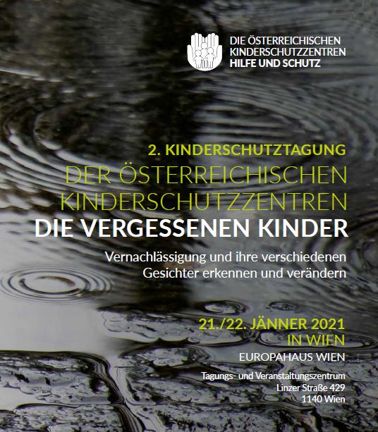 Tagungsposter der 2. Kinderschutztagung 2021
