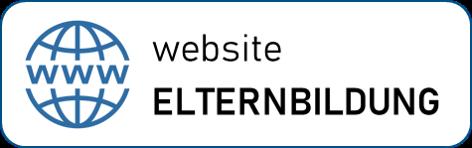 Tafel: Website Elternbildung